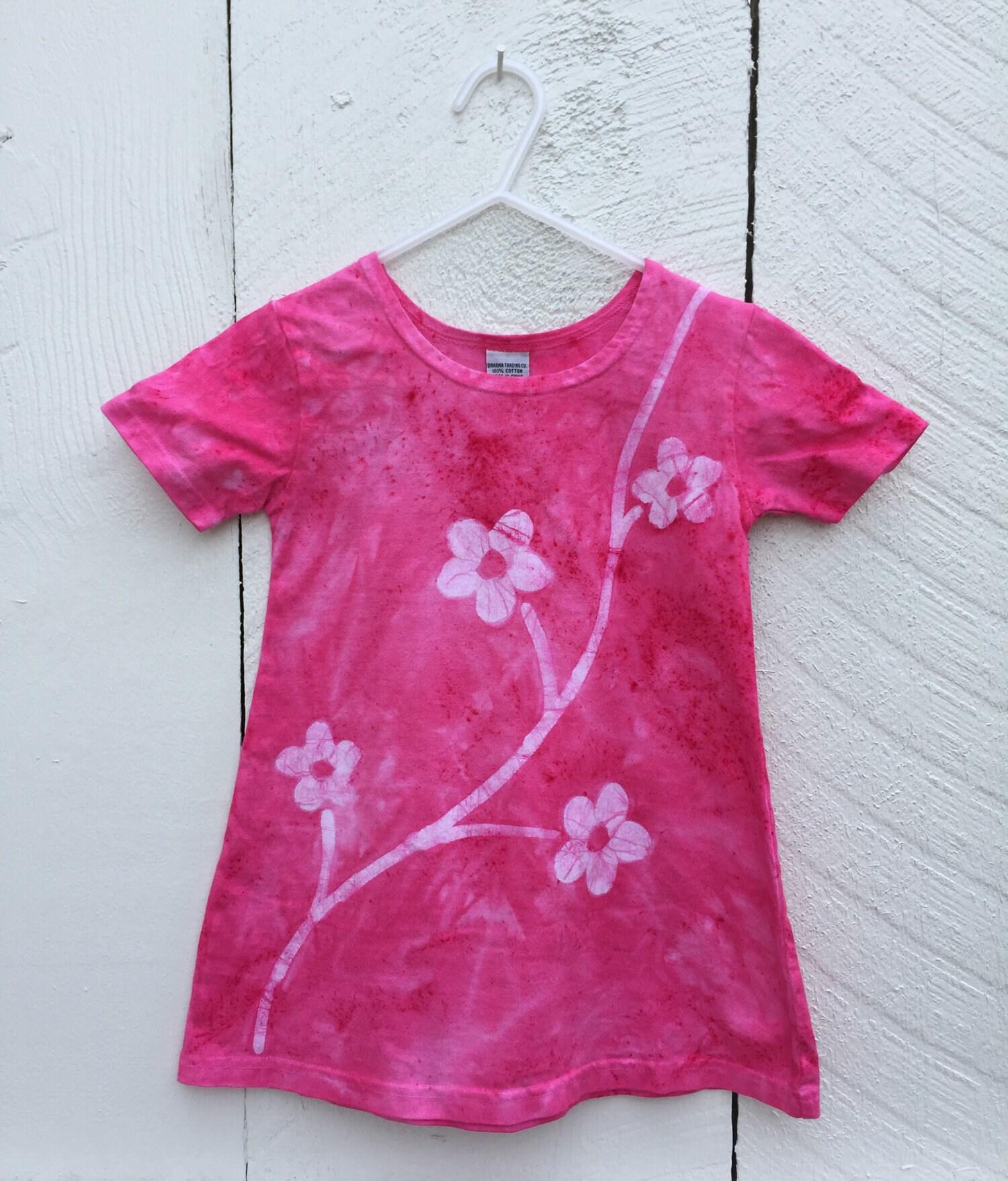 Pink Girls Dress Girls Flower Dress Flower Girls Dress Toddler