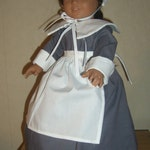 Pilgrim/ Thanksgiving outfit, 18 inch doll, Aerican Girl Doll