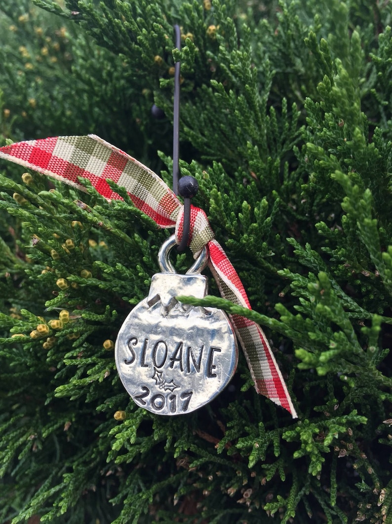 personalized Christmas ornament-babys first image 0