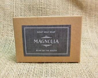 Goat's Milk Soap - Magnolia Scent
