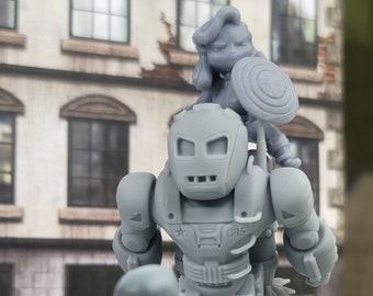Chibi Hydra Stomper Miniature