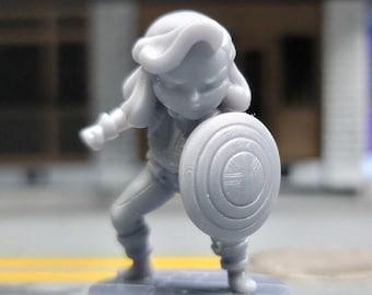 Chibi Captain Carter Miniature