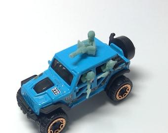 Gaslands Crew members Miniatures x6  SET 1 - Autokill - Car Wars - Hot Wheels 1/64