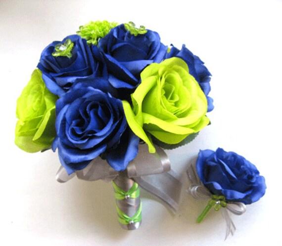 2 pcs seattle seahawks nfl navy blue green silk flower wedding etsy image 0 mightylinksfo