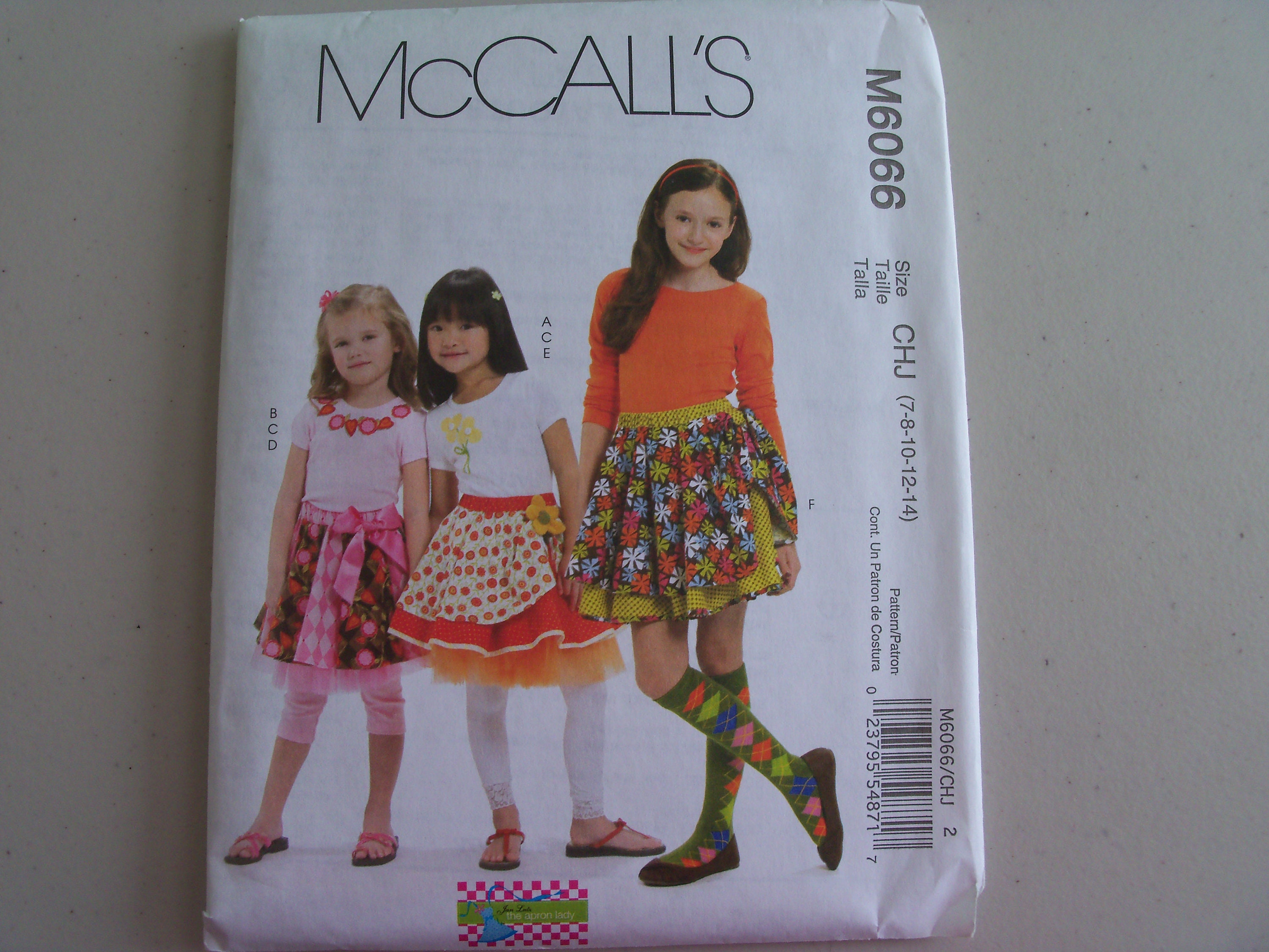 McCALL/'S SEWING PATTERN SKIRT 4 STYLES EASY GIRLS/' SIZE 3-6 or 7-14 # M6830