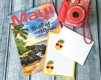 Stationery set | pineapple of my eye | letter writing set
