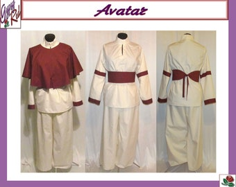 halloween aang last airbender avatar cosplay costume adult size 4 6 8 10 12 14 xs s m l xl