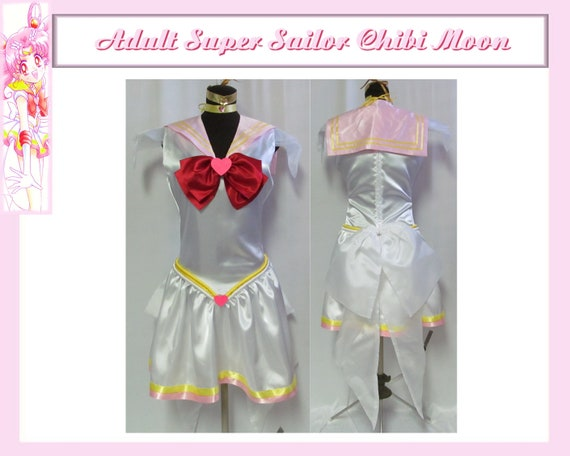 Super Sailor Chibi Mini Moon Costume Cosplay Adult Women S Etsy
