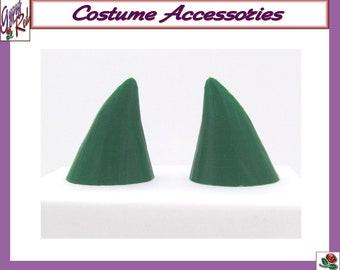 Halloween Small Short Green Demon Devil Horns Costume Cosplay Accessories Lightweight 3D Printed ABS Plastic