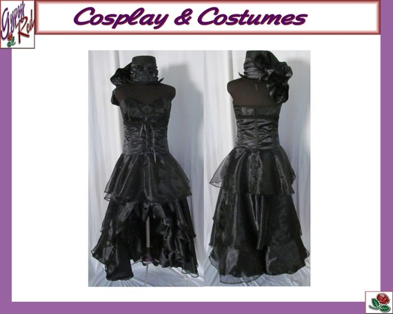Female Undertaker Black Butler Cosplay Costume Steampunk