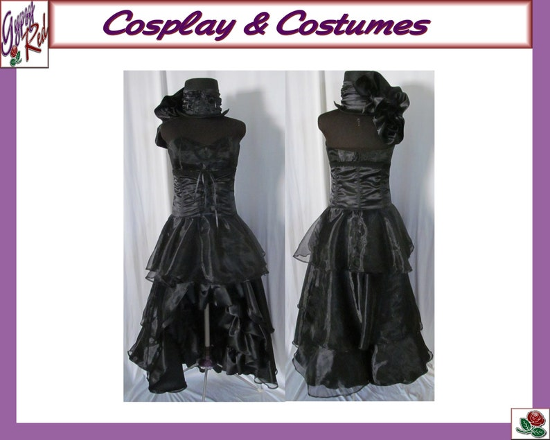 Female Undertaker Black Butler Cosplay Costume Steampunk Etsy