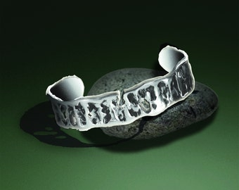 Silver Relic Bracelet