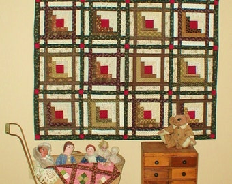 Quilt Pattern - Lincoln's Logs