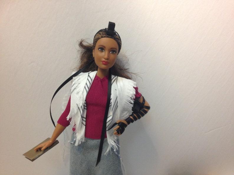 Tefillin Barbie Braune Haare Kurvigen Körper Braune Haut Etsy