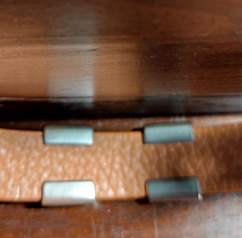 Cuff Bracelet GAP Vintage Faux Leather GAP Bracelet Wide Cuff Bracelet Initial Bracelet Vintage GAP