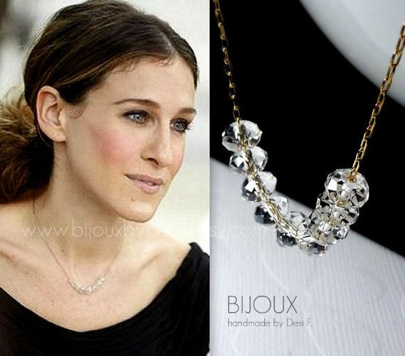 Sex And The City Carrie Bradshaw Diamond Necklace 14K  Etsy-2017