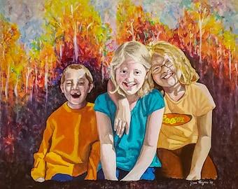 16 x 20 Color Acrylic Portrait