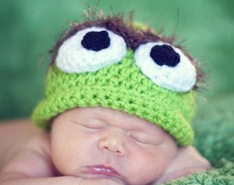 b5d21ae3ab2 Oscar grouch hat