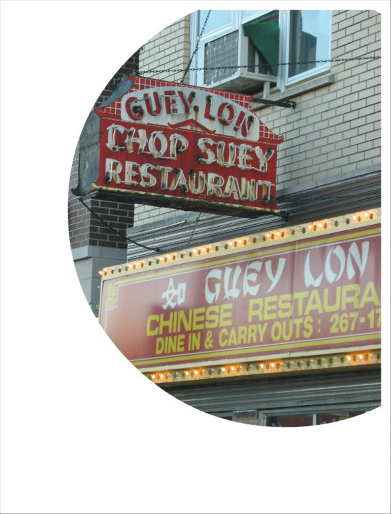 chinese food photo vintage neon sign photography chicago