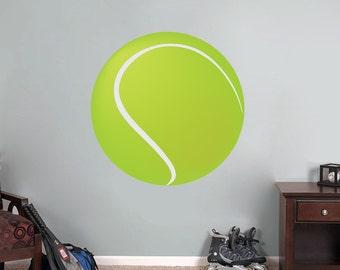 Slaapkamer Met Kunstmuur : Tennis muur stickers etsy