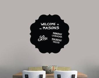 Chalkboard Badge - Chalkboard Kitchen Dining Room Office Kids Room Nursery Wall Decals