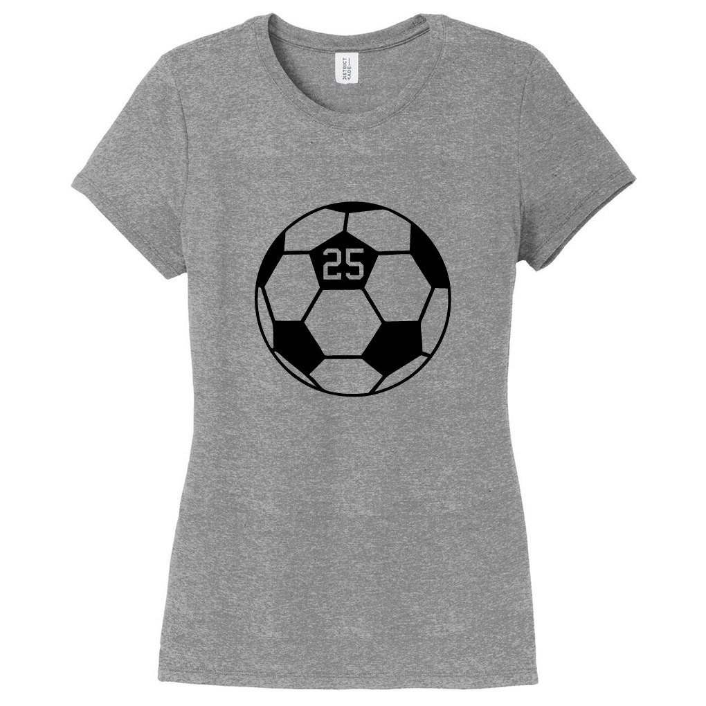 Custom Soccer Ball - Personalized Sports Womens Fitted T-shirt Unisex Tshirt