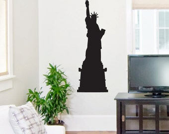 Statue Of Liberty - Shapes Wall Decals