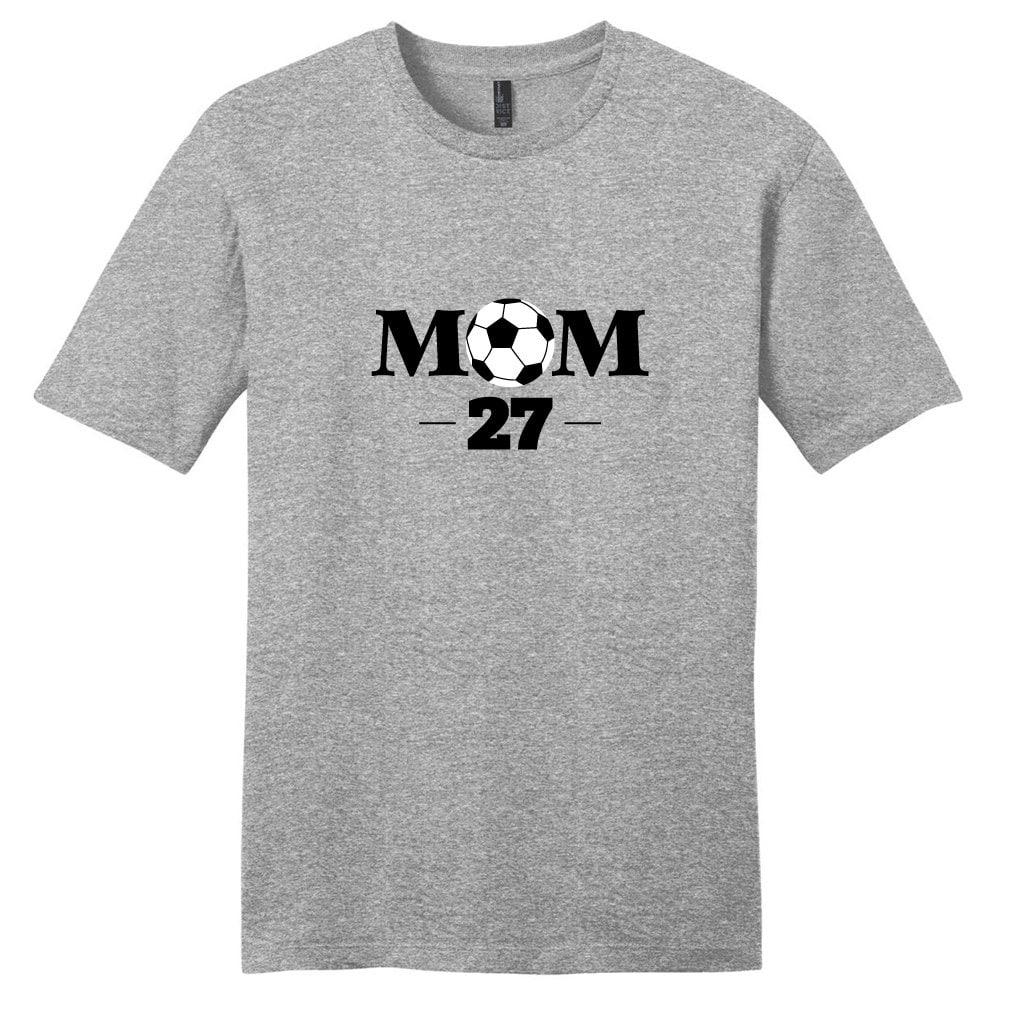 Custom Soccer Mom T-shirt - Womens Personalized Sports Unisex Shirt Unisex Tshirt