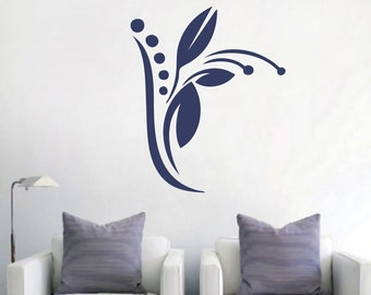 Tulip Embellishment - Flowers and Shapes Wall Decals