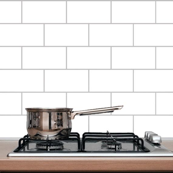 U-Bahn-Fliesen Küche und Bad Wandtattoo | Etsy