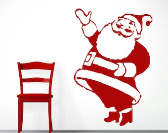 Santa Claus - Seasonal Christmas Wall Decals