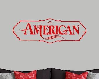 American - Patriotic Wall Decals