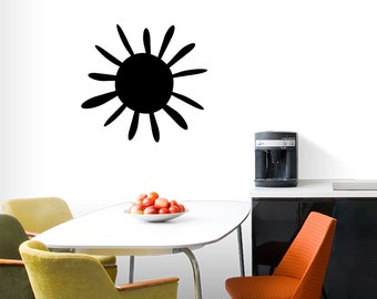 Summer Sunshine - Shapes Wall Decals