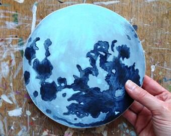 Original painting - The Blue Planet