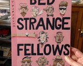 Small original painting: Bed Strange Fellows (pink)