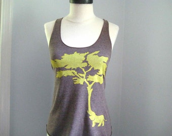 Elephant Tree Tank Top American Apparel