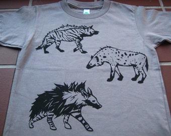 Kids Hyena T Shirt Organic
