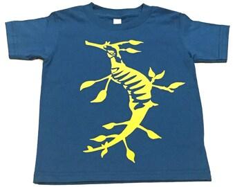 Weedy Sea Dragon Kids T Shirt Organic
