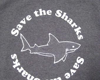 KIDS Save the Sharks T shirt