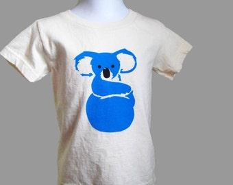 Koala T Shirt Toddler Organic Cotton