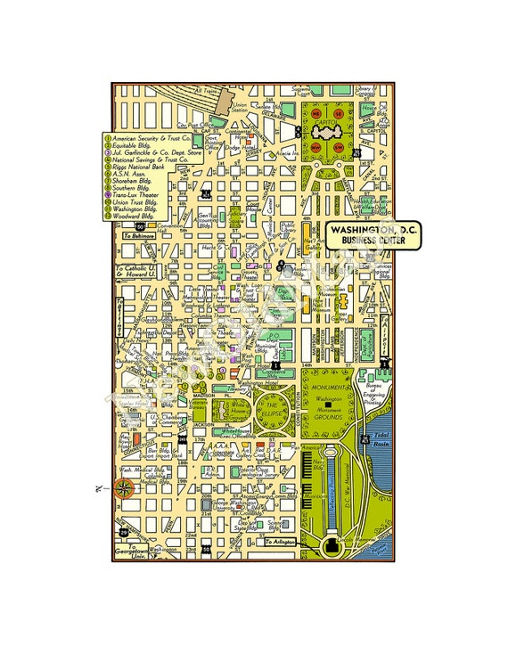 Dc Museums Map on