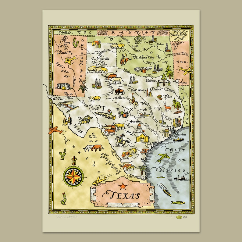 Dallas Ft Worth Map on