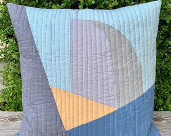 Overlander Half Dome 20 x 20 Pillow, Mid Century Art, Abstract Art