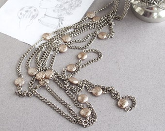 Multistrand Chain Necklace Olivia