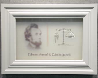 The Stars and Abraham: Zubeneschamali & Zubenelgenubi