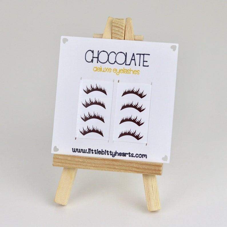 American Girl Eyelashes Removable Doll Makeup Deluxe image 2