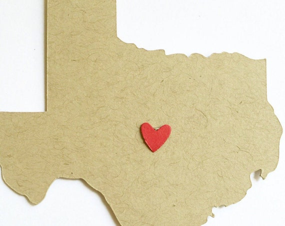 Greetings from Texas. Left My Heart In Texas. Southern Belle, Texas Girl. Texas Gifts For Her. Personalized Texas State Wedding Stationery.