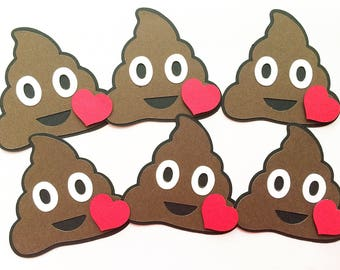 Poop Emoji Birthday DIY Kit. Set of 4. Classroom Birthday. Kids Birthday. Funny Birthday Party Tag. Poop Emoji Party Favor. Poop Emoticons
