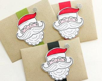 Santa Letter. Christmas Stocking Stuffer. Letter from Santa. Santa Gift Card Holder. Santa Note. Personalized Letter. Handwritten Santa Note
