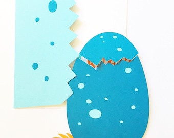 Dinosaur baby shower invitation- baby boy shower invitations, DIY dinosaur invitation, dino egg, dinosaur shower theme, baby shower invite